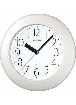 Rhythm wall clock White 4KG652-WR03