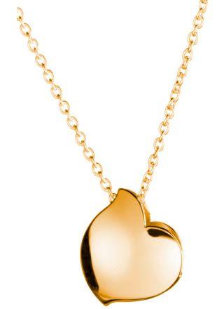 Lumoava Hug necklace, gold 7666 00