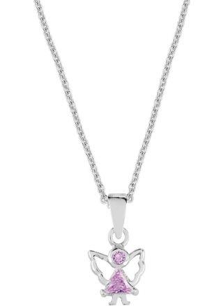 AALmark Angel Christening Necklace NAN1 pink/36-38