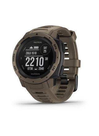 Garmin Instinct Tactical Coyote Tan WW Smart Watch 010-02064-71