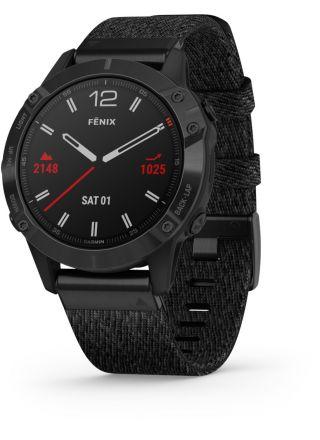 Garmin Fenix 6 Sapphire Black DLC Smart Watch 010-02158-17