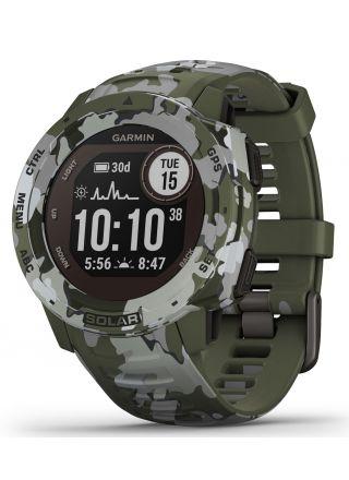 Garmin Instinct Solar Lichen Camo Smart Watch 010-02293-06