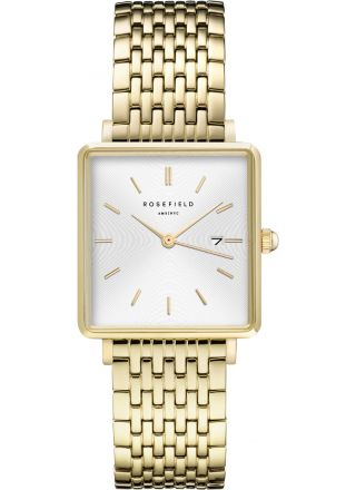 Rosefield The Boxy QWSG-Q09 White Sunray/Steel/Gold