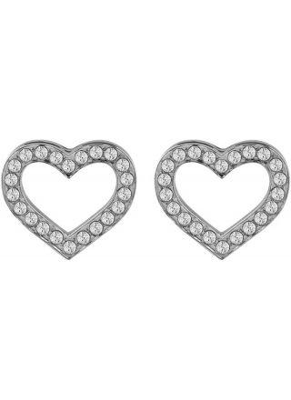 GUESS Shine On Me Earrings UBE28003 Silver