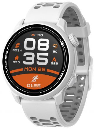 COROS Pace 2 White with Silicone Band WPACE2-WHT