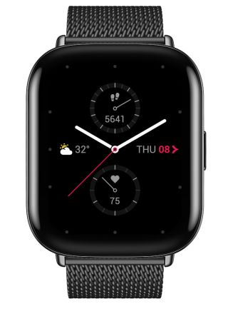 Zepp E Square MetallicBlack SpecialEdition smart watch