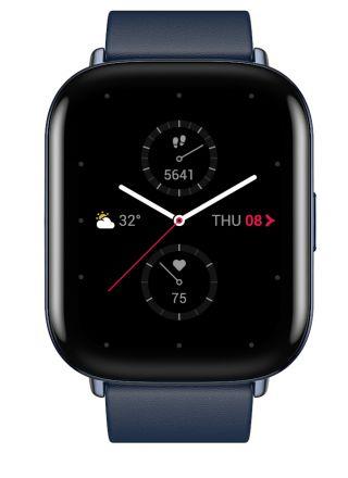 Zepp E Square Deep Sea Blue smart watch