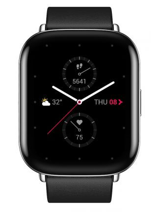 Zepp E Square Polar Night Black smart watch